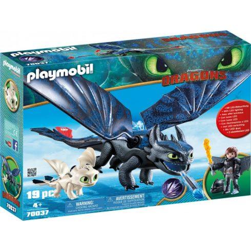 Playmobil Dragons 70037 Fogatlan és Hablaty