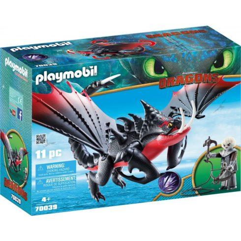Playmobil Dragons 70039 Halálfogó Morgorral