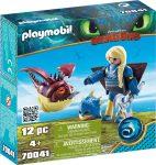Playmobil 70041 Astrid repülő ruhában Hammanóval