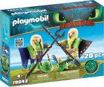 Playmobil 70042 Kőfej és Fafej repülő ruhában