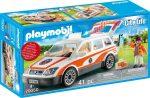 Playmobil City Life 70050 Sürgősségi mentőjármű hanggal és fénnyel