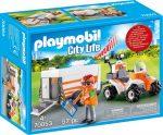 Playmobil 70053 Mentő quad utánfutóval