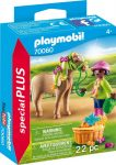 Playmobil 70060 Lány pónival