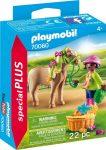 Playmobil Kiegészítők 70060 Lány pónival