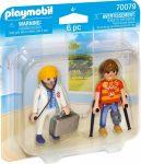 Playmobil City Life 70079 Orvos és beteg
