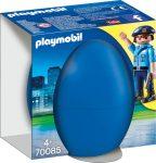 Playmobil Kiegészítők 70085 Rendőr kutyával húsvéti tojásban