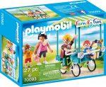 Playmobil 70093 Családi kerékpározás