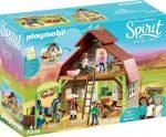 Playmobil 70118 Lucky, Pru & Abigail istállója