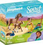 Playmobil 70122 Pru lóval és csikóval