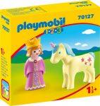 Playmobil 1.2.3 70127 Hercegmő egyszarvúval