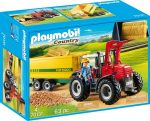 Playmobil Country 70131 Traktor pótkocsival