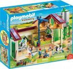 Playmobil Country 70132 Nagy farm Silóval