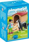 Playmobil Country 70136 Vadászkutya házzal
