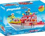 Playmobil City Action 70147 Tűzoltóhajó