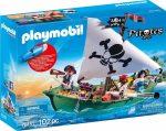 Playmobil Pirates 70151 Kalózhajó víz alatti motorral