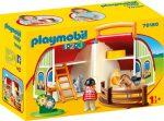 Playmobil 70180 1-2-3 Hordozható lovarda