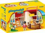 Playmobil 1.2.3 70180 Hordozható lovarda