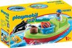 Playmobil 70183 1-2-3 Tengerész hajóval