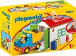 Playmobil 1.2.3 70184 Autó garázzsal