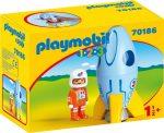Playmobil 70186 1-2-3 Űrhajós rakétával