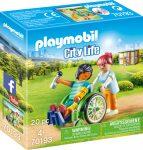 Playmobil City Life 70193 Beteg kerekesszékben