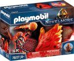 Playmobil Novelmore 70227 Burnham Raiders: A tűz szelleme és a tűz őre