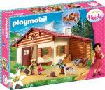Playmobil Heidi 70253 Heidi és nagyapja az alpesi kunyhóban