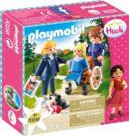 Playmobil Heidi 70258 Clara apjával és Miss Rottenmeierrel