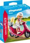 Playmobil 9084 Lány robogón