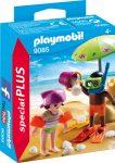 Playmobil 9085 Homokvárat építő gyerekek