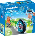 Playmobil 9204 Speed roller kék