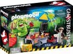 Playmobil 9222 Slimer hot-dog standdal