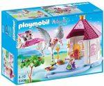 Playmobil 9289 Királyi szoba pegazus hintóval