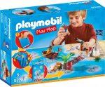 Playmobil 9328 Játszólap - Kalózok