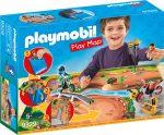 Playmobil 9329 Játszólap - Motocross