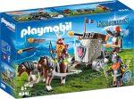 Playmobil 9341 Törpék és vontatható dárdavető gép