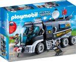 Playmobil 9360 Rendőrségi rohamkocsi hanggal és fénnyel