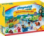 Playmobil 9391 1.2.3 Advent naptár - Állatok erdei karácsonya
