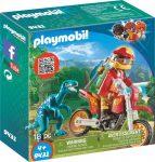 Playmobil 9431 Motocross raptorral