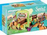 Playmobil 9478 Lucky és Spirit istállóval
